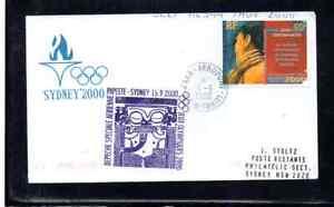 SPECIAL OLYMPIC FLIGHT PAPEETE TAHITI - SYDNEY 2000