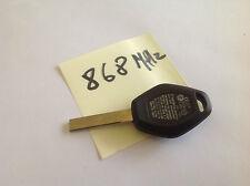FITS BMW Key Fob 868 mhz  3 Button E60 e61 x3 x5  3 5 7 Z3 NEW BLADE + CHIP #127