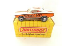 Vintage 1971 Matchbox Superfast No74 Orange Peel Dragster Made In Macau (656)