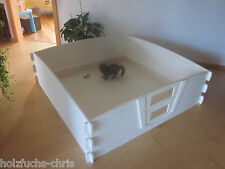 Wurfkiste Stecksystem Holz Welpenbox 148x148 Welpe Wurfbox Schlafplatz Hund Katz