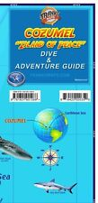 Cozumel Mexico Dive Snorkel Adventure Guide Map by Franko Maps