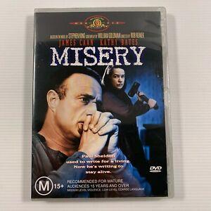 Misery (DVD, 2004) Kathy Bates James Caan Region 4 new sealed