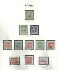 CHINA DIFFERENT STAMPS MINT FROM CYPRUS