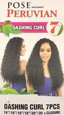 Model Model Pose Peruvian 7pcs Dashing Curl 16