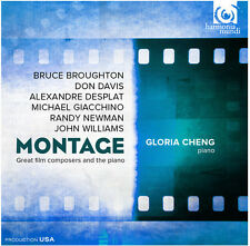 Broughton / Giacchin - Montage-Great Film Composers & the Piano [New CD]