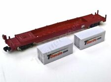 T Gauge White Container Wagon Set 04620-W