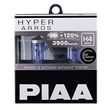 ! nuevo! HE-900 Piaa H4 Hyper Arros 3900K +120% más de brillo reforzadas Headlight Bulbs