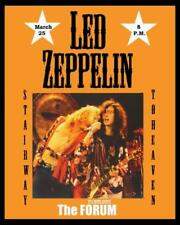 Led Zeppelin The Forum Stairway To Heaven Concert Poster 8 x 10 Photo Print