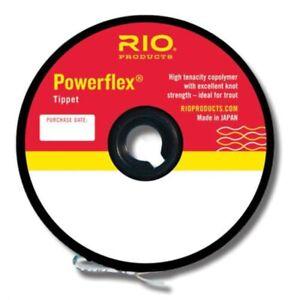 RIO Powerflex Tippet - NEW FREE SHIPPING