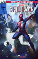 Spider-Man City At War 1 Marvel Skan Srisuwan Variant Amazing Fantasy 15 Homage