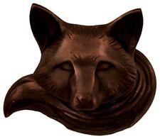 Michael Healy Designs Mhr77 Fox Doorbell Ringer - Oilled Bronze,