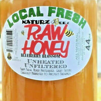 RAW HONEY BLUEBERRY BLOSSOM 2.75 LBS / 44oz 100% PURE LOCAL UNFILTERED NJ/NY/PA