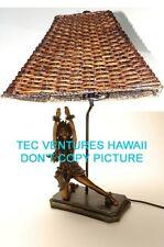 "Kim Taylor Reece ""Kilakila"" Hawaiian Hula Sculpture Lamp NIB"