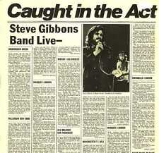 "12"" Steve Gibbons Band Caugh In The Act (Live) 70`s Polydor (Day Tripper)"