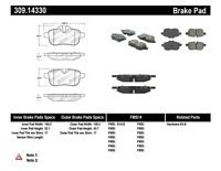 StopTech 309.14330 StopTech Sport Brake Pads Fits 09-16 Z4