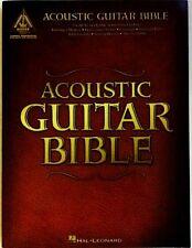 GUITAR TABLATURE ACOUSTIC GUITAR BIBLE 35 SONGS GUITAR TAB SONG BOOK