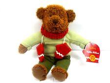 "2002 Hallmark Teddy Mittens 100 Year Anniversary 13"" Bear Plush Nwt"