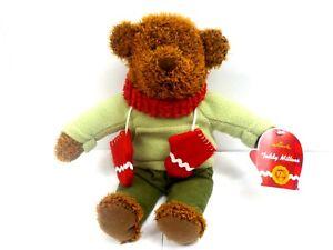 Hallmark 2002 Teddy Mittens 100 Year Anniversary 13 inch Bear Plush NewToy