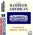 1962 AMC American Rambler Service Shop Repair Manual CD