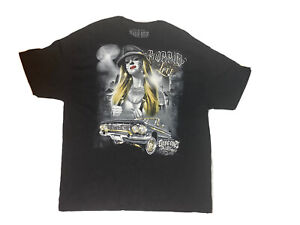 Dyse One Soul Mens Big And Tall Size 2XL Black Gangster Paradise T - Shirt