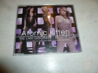 ATOMIC KITTEN - The Last Goodbye / Be With You - 2002 UK 3-track CD Single