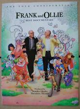 Frank Thomas Ollie Johnston 1996 Ad- Best Documentary consid/Disney animators
