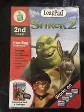 Leappad  Shrek 2 Reading Storybook Leap Frog learning system 2nd grade SEALED