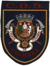 PATCH FIRE RESCUE DEPT COIMBRA CITY POMPIERS BOMBEROS EB00616