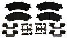 Disc Brake Pad Set-Semi Metallic Disc Brake Pad Rear ACDelco Pro Brakes 17D792MH