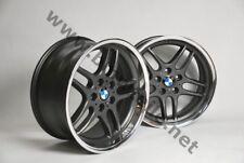 BMW E39 M5 Felgen Styling 37 M Parallelspeiche Alufelgen 18 Zoll E38 E36 M-Paket