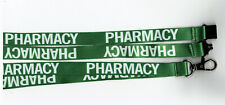 1 Green Pharmacy Printed Breakaway Safety Strap Lanyard for ID Card UK