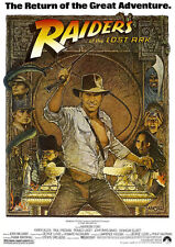 Indiana Jones Raiders of the Lost Ark A4 260gsm Poster Print