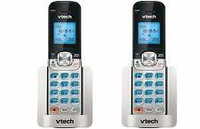 2 x Vtech DS6501 DECT 6.0 Cordless Accessory Handset For DS6511 DS6521 DS6522
