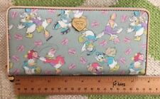 NIB NEW Samantha Thavasa Wallet Zip Around Donald Daisy Duck Disney Mickey Mouse