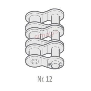 Renold Synergy 24B-3-NO12 BS Triplex Kette Sng Gekröpft Klammer Link 3.8cm