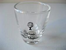 1 Verre à goutte Calvados Père Magloire alcool glas.