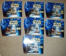 STAR WARS MICRO MACHINES DIE CAST EPISODE 1 7 PCS LOT DROID FIGHTER SEBULBA GIAN
