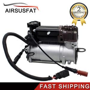 Air Suspension Compressor Pump For Audi A8 D3 Quattro S8 02-10 4E0616007E New