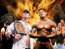Celebrity Wrestler Photos - John Cena & Dave Batista