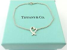TIFFANY & CO Sterling Silver Loving Heart Bracelet