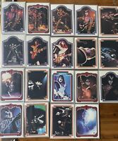 1978 Kiss Card Lot 19 Cards Played condition Gene Simmons Ace Frehley