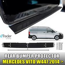 MERCEDES VITO REAR BUMPER PROTECTOR BLACK V CLASS W447 2014 > STRIP GUARD 3M