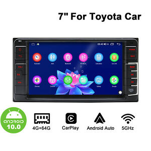 """For Toyota Universal  7"""" Android 10 Android GPS Universal Player with Octa Core"""
