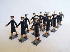 Miniaturas de activos 54MM mujeres EE. UU. Navy Corps marchando X 15 Figuras Sueltas (BS1473)