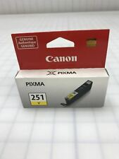 Genuine Canon CLI-251Y CLI251Y Yellow Ink Cartridge for ip7220 ip8720 ix6820