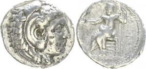 Tetradrachme Makedonien 323-317 v. chr. Antikes Griechenland (45685)