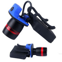 LED Clip-on Cap Hat Head Light Torch Camping Hiking Fishing Outdoor Headlamp CHL
