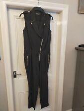 River Island Black jump suit size 12