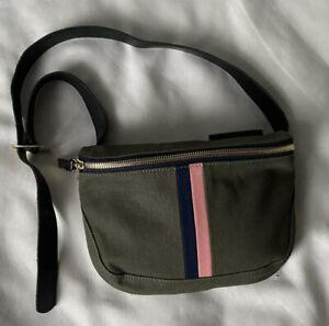 NWOT CLARE V Olive Green Fanny Pack Belt Bag