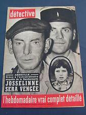 Détective 1964 940 SAIGNEVILLE PETIT PORT BAUMETTES GOURIN SAINT VAAST LES MELLO